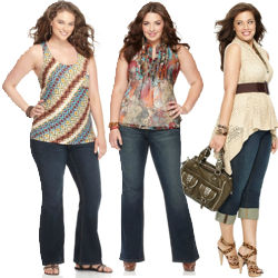 Trendy Plus Size Jeans
