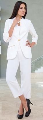Capri Plus Size Pant Suit