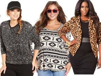 Fall Plus Size Trendy Tops