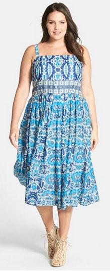 Floral Print Spring Dress