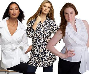 Women's Plus Size Blouses