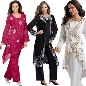 Plus Size Formal Pant Suits