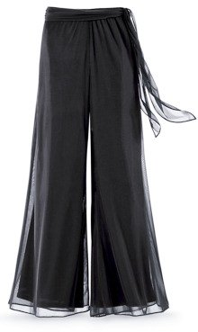 Plus Size Special Occasion Palazzo Pants