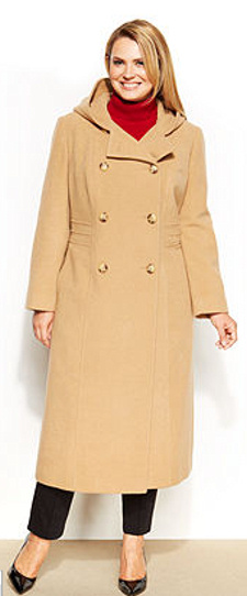 Plus Size Anne Klein Coat