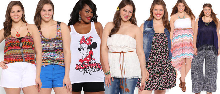 2014 Plus Size Teen Summer Trends