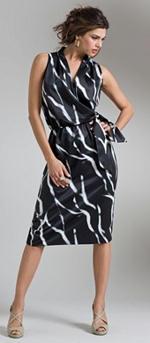 Trendy Plus Size Wrap Dress